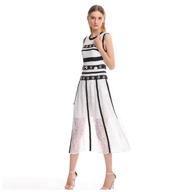 ME Boutiques Private Label Collection short dress White & Black on Tradesy Image 1