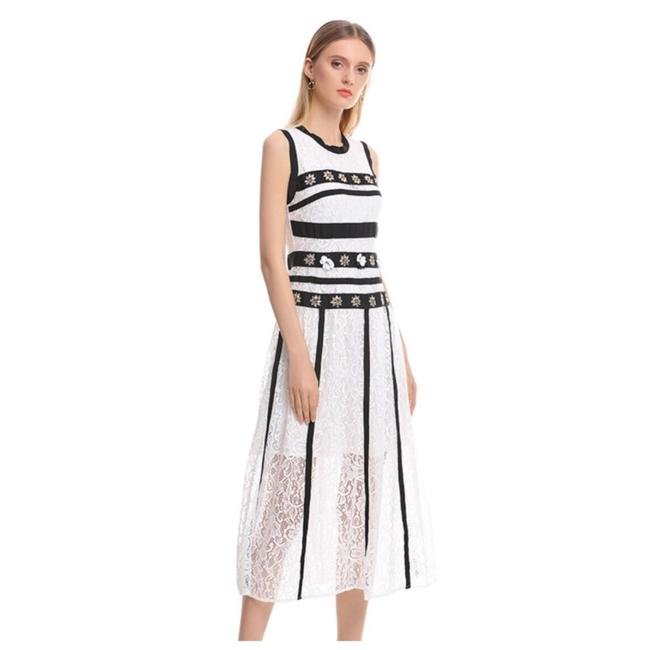 ME Boutiques Private Label Collection short dress White & Black on Tradesy Image 2