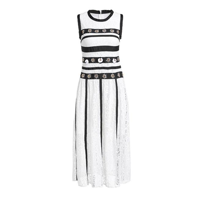 ME Boutiques Private Label Collection short dress White & Black on Tradesy Image 3