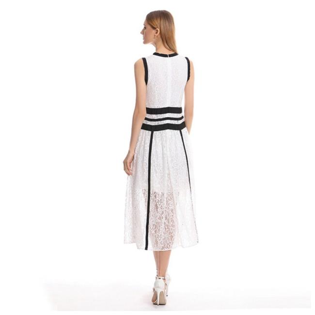 ME Boutiques Private Label Collection short dress White & Black on Tradesy Image 4