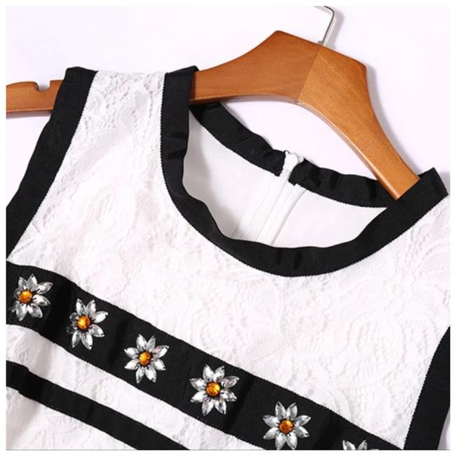 ME Boutiques Private Label Collection short dress White & Black on Tradesy Image 6