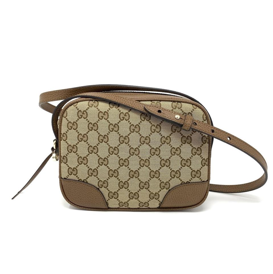 47f80ec98 Gucci Bree Handbag Brown Supreme Canvas Cross Body Bag - Tradesy