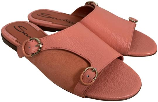 Preload https://img-static.tradesy.com/item/25599984/santoni-pink-leather-double-monk-strap-flat-slide-sandals-size-eu-36-approx-us-6-regular-m-b-0-1-540-540.jpg