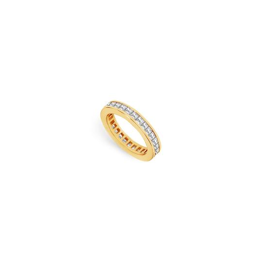 Preload https://img-static.tradesy.com/item/25600010/white-two-carat-cubic-zirconia-eternity-band-in-14k-yellow-gold-second-and-t-ring-0-0-540-540.jpg