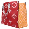 Louis Vuitton Onthego Giant Monogram Giant Collection On The Go Onthego Satchel in Rouge Image 6