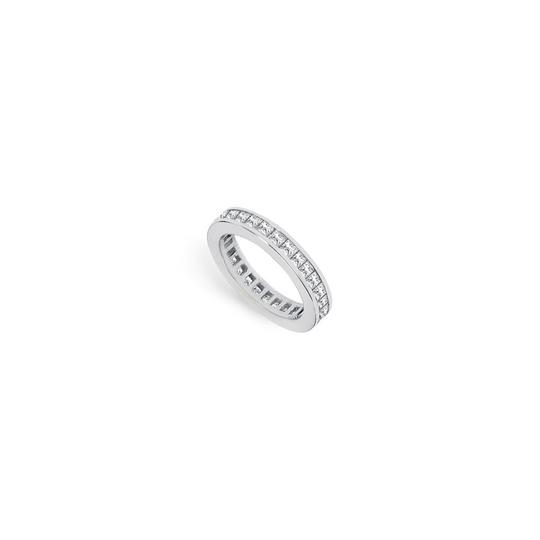 Preload https://img-static.tradesy.com/item/25600027/white-two-carat-cubic-zirconia-eternity-band-in-14k-gold-second-ring-0-0-540-540.jpg