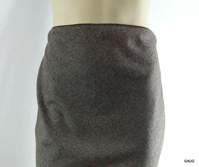 J.Crew Skirt Brown and White Image 1