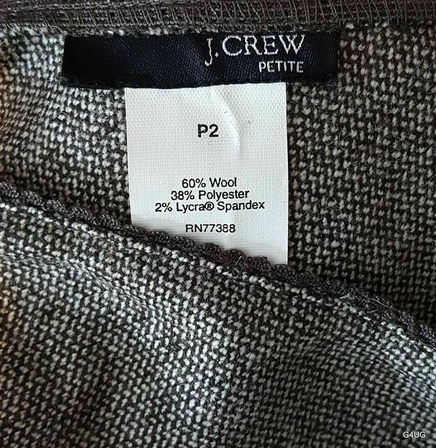 J.Crew Skirt Brown and White Image 5