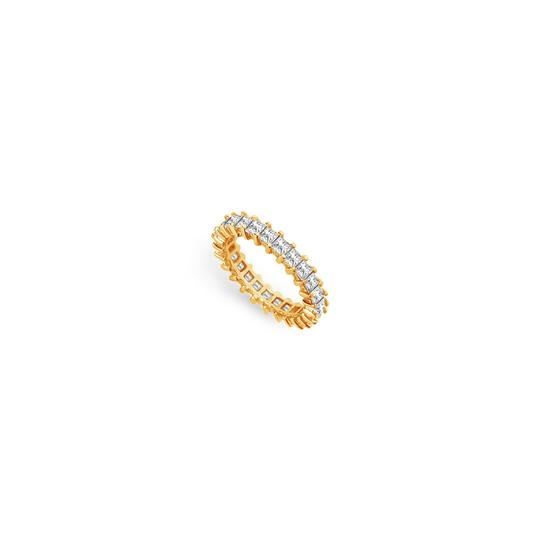 Preload https://img-static.tradesy.com/item/25600115/white-three-carat-cubic-zirconia-eternity-band-in-14k-yellow-gold-third-wedd-ring-0-0-540-540.jpg