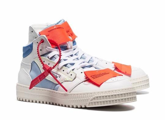 Off-White Multi Color Athletic Image 1
