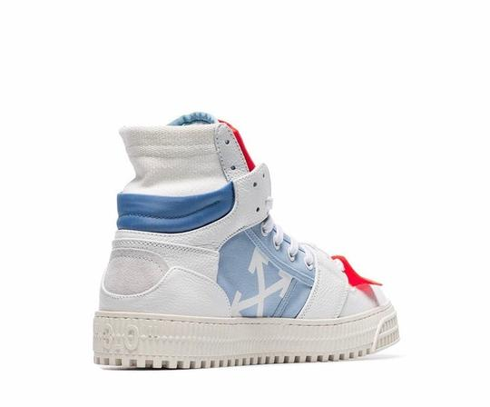 Off-White Multi Color Athletic Image 2