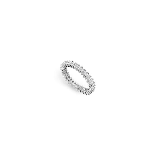 Preload https://img-static.tradesy.com/item/25600158/white-two-carat-cubic-zirconia-eternity-band-in-14k-gold-secondand-ring-0-0-540-540.jpg