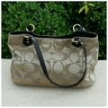 Coach Tote in Tan Brown Image 2