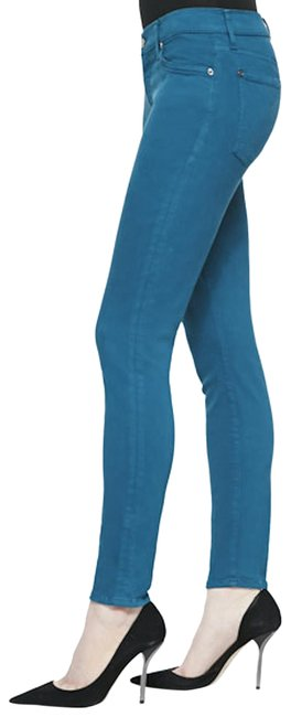 Preload https://img-static.tradesy.com/item/25600162/7-for-all-mankind-teal-skinny-jeans-size-26-2-xs-0-3-650-650.jpg