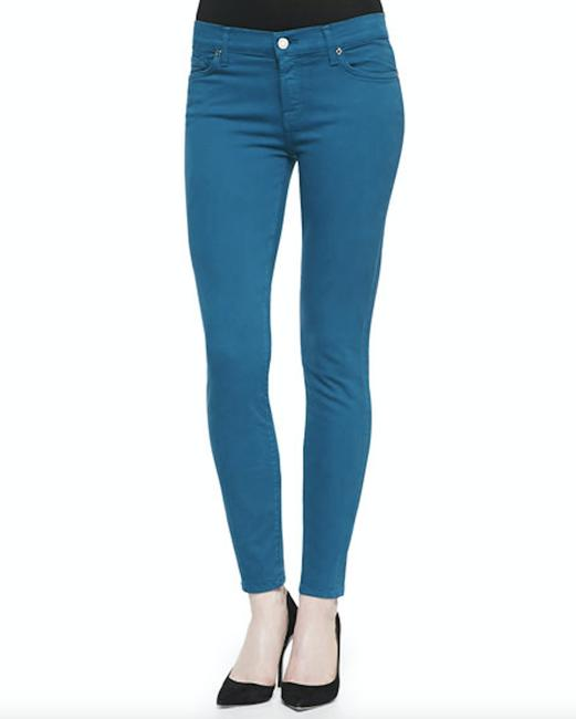 7 For All Mankind Stretchy Skinny Jeans Image 2