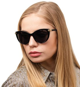 Versace VERSACE VE4364Q - GB1/87 CAT EYE SUNGLASSES