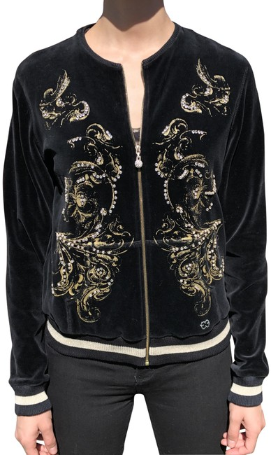 Preload https://img-static.tradesy.com/item/25600194/escada-black-velour-with-gold-and-crystals-activewear-outerwear-size-10-m-0-1-650-650.jpg