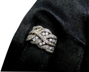 Affinity NEW Affinity Braided Natural Diamond Ring 3/4 cttw Size 7.25