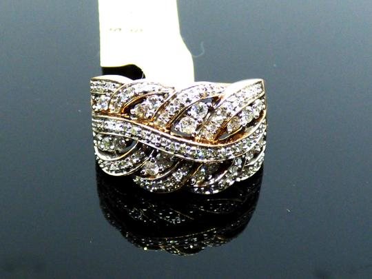 Affinity NEW Affinity Braided Natural Diamond Ring 3/4 cttw Size 7.25 Image 3