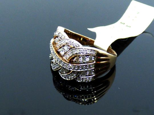 Affinity NEW Affinity Braided Natural Diamond Ring 3/4 cttw Size 7.25 Image 4