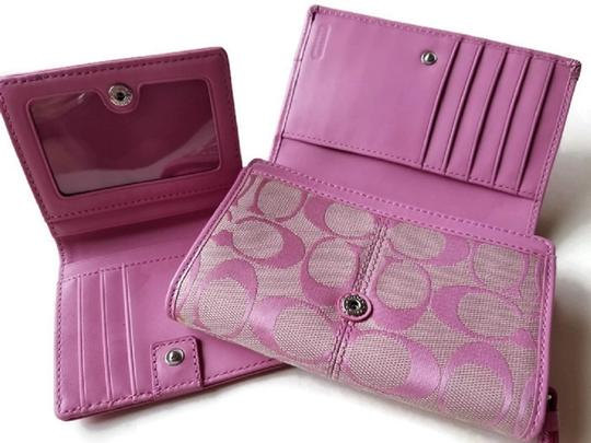 Coach Wallet New Pink Clutch Image 2