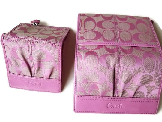 Coach Wallet New Pink Clutch Image 3