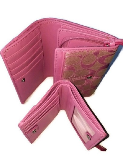 Coach Wallet New Pink Clutch Image 5