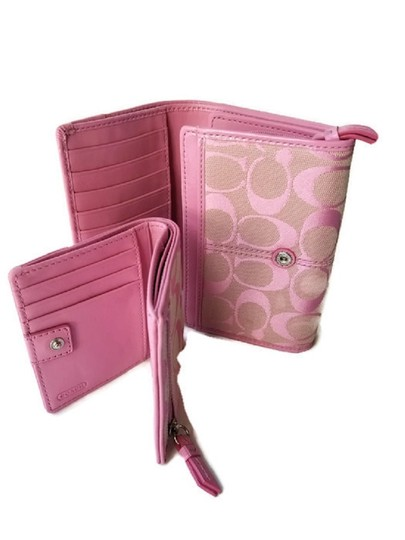 Coach Wallet New Pink Clutch Image 7