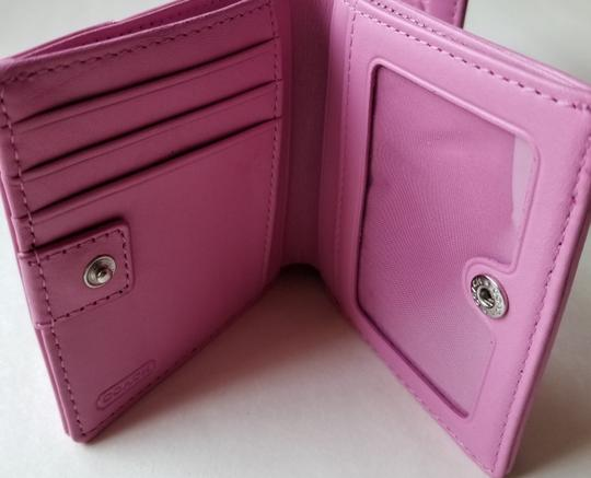 Coach Wallet New Pink Clutch Image 9