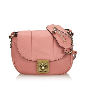 Chloé 9fclcx004 Vintage Leather Cross Body Bag