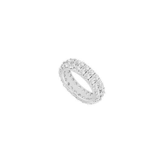 Preload https://img-static.tradesy.com/item/25600285/white-two-carat-cubic-zirconia-eternity-band-in-14k-gold-second-and-th-ring-0-0-540-540.jpg