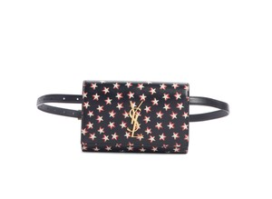 Saint Laurent Kate Star Print Cross Body Bag