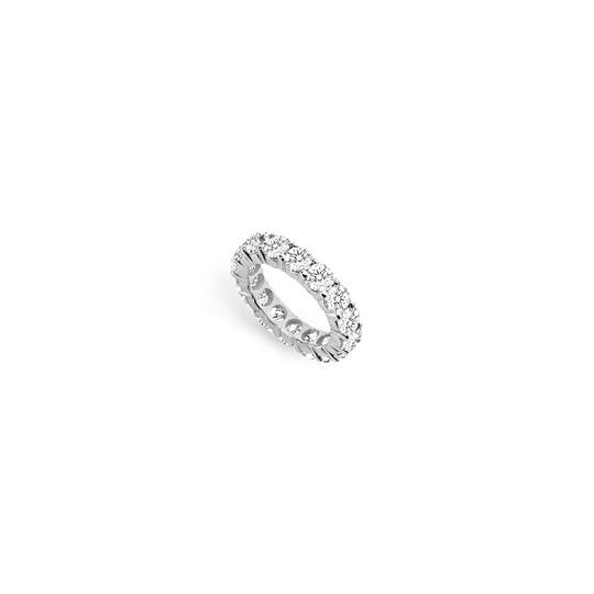 Preload https://img-static.tradesy.com/item/25600298/white-five-carat-cubic-zirconia-eternity-band-in-14k-gold-fifth-and-te-ring-0-0-540-540.jpg