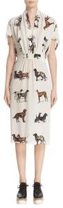 Stella McCartney Dog Silk Printed Dress