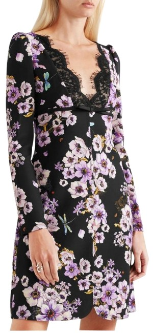 Preload https://img-static.tradesy.com/item/25600341/giambattista-valli-purple-and-black-lace-trimmed-floral-print-short-cocktail-dress-size-6-s-0-2-650-650.jpg