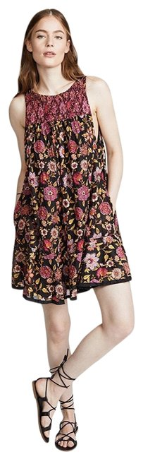 Preload https://img-static.tradesy.com/item/25600351/free-people-oh-baby-floral-printed-smocked-sleeveless-short-casual-dress-size-4-s-0-1-650-650.jpg