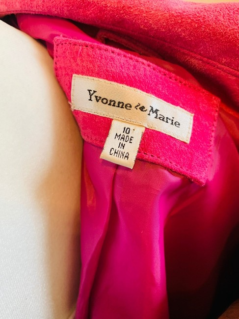 Yvonne Le Marie Pink Leather Jacket Image 5