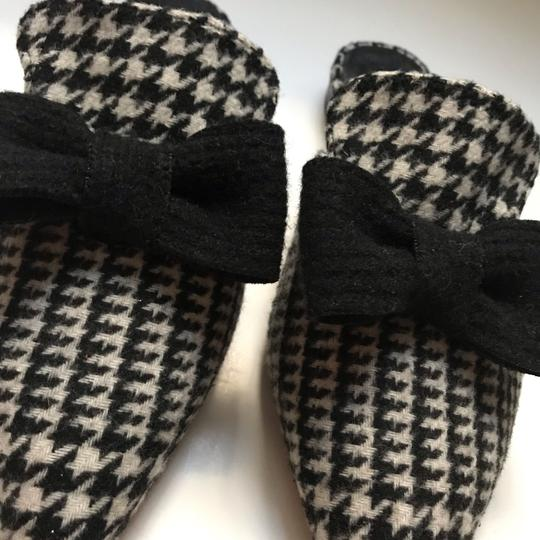 Kate Spade black and white Mules Image 2