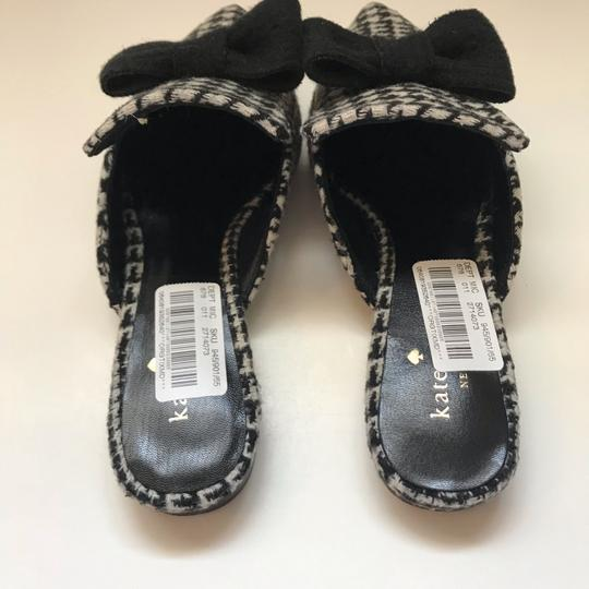 Kate Spade black and white Mules Image 5