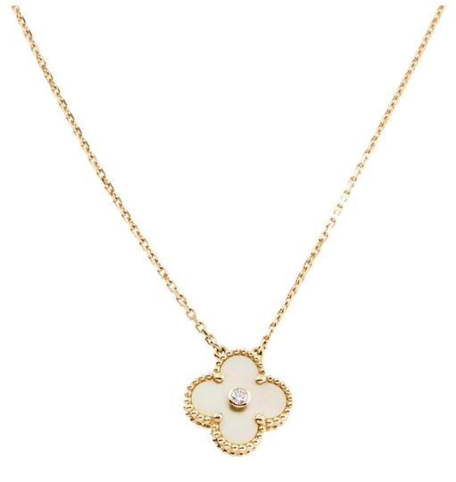 Preload https://img-static.tradesy.com/item/25600515/van-cleef-and-arpels-yellow-alhambra-limited-edition-vintage-necklace-0-0-540-540.jpg