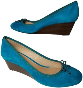 Tory Burch blue turquoise Pumps