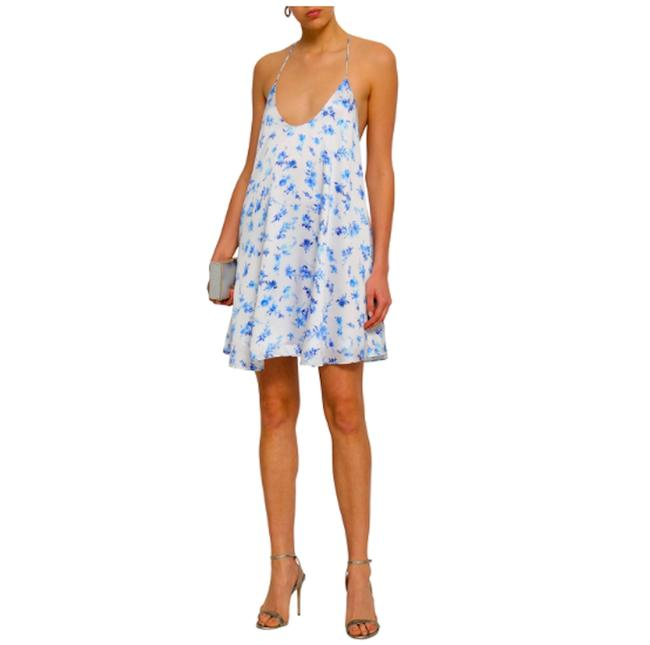 cami nyc Silk Floral Revolve Dress Image 1