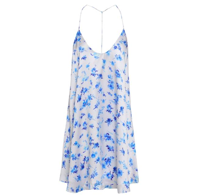 cami nyc Silk Floral Revolve Dress Image 2