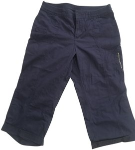 Croft & Barrow Rag Bone Pants Capris Navy