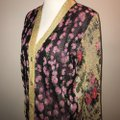 Gucci Reversible Floral Butterfly Silk Cardigan Image 3