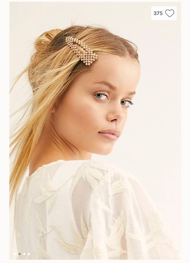 Free People free people pretty beaded clip set Image 2