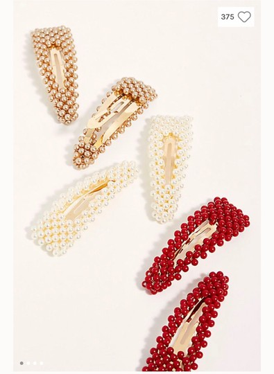 Free People free people pretty beaded clip set Image 3