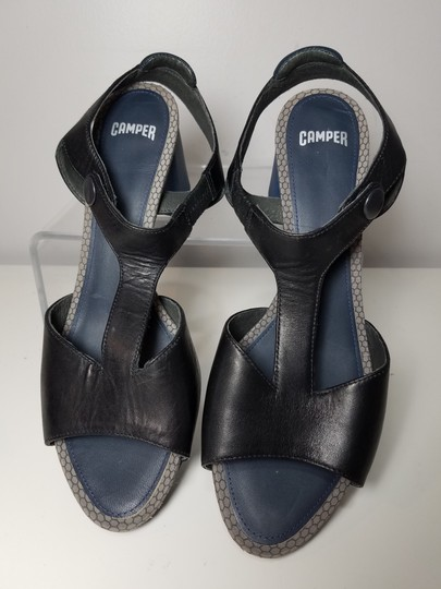 Camper black/ navy Sandals Image 6