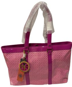 Tory Burch Tote in Hibiscus Pink