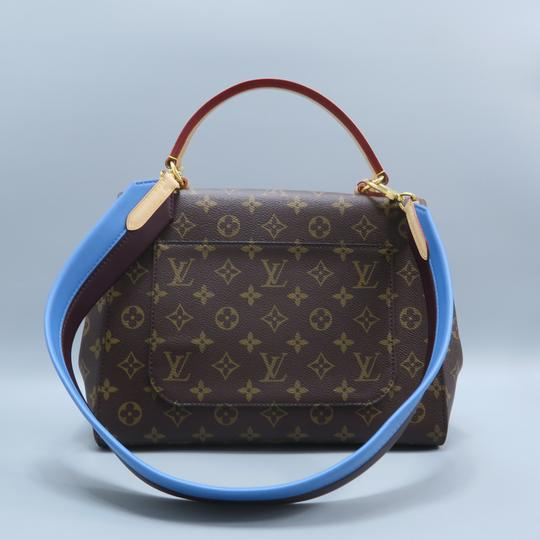Louis Vuitton Lv Cluny Mm Monogran Canvas Satchel in BROWN Image 1